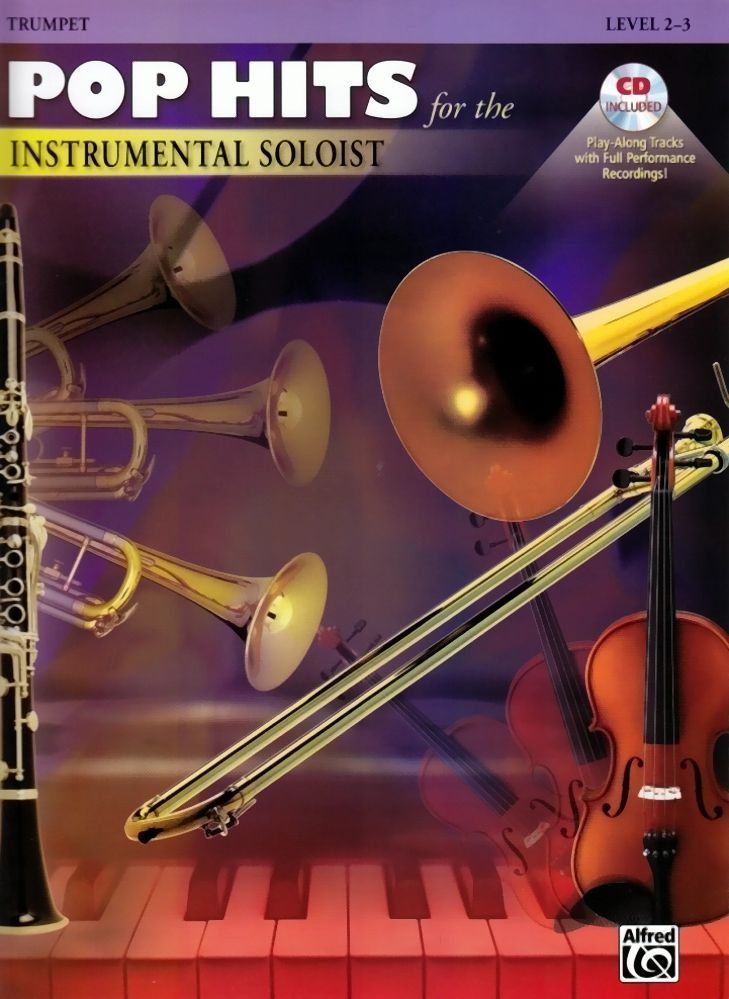 Noten POP HITS FOR THE INSTRUMENTAL SOLOIST Trompete incl. CD Alfred