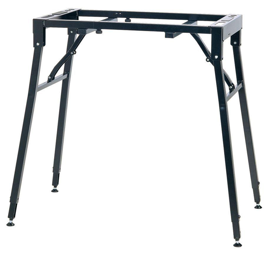 K&M 18950 Klapptisch für Stagepianos und große Keyboards (bis 80 kg belastbar)