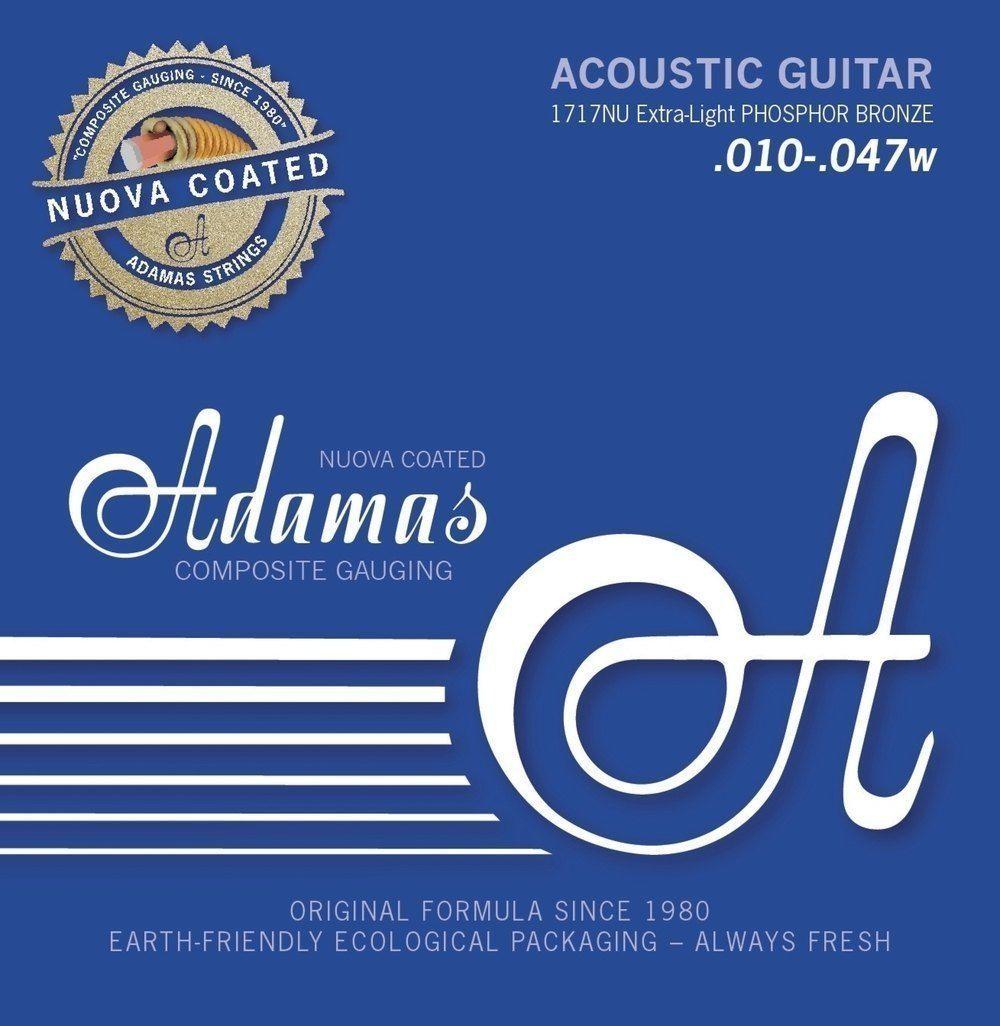Adamas 1717NU Nuova Coated 6 String 010-.047 Extra Light