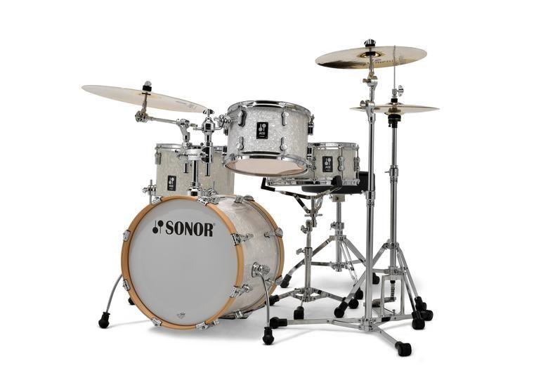 Sonor AQ2 Bop Set WMP white marine pearl 18/12/14 Snare
