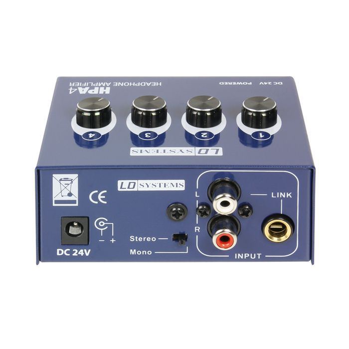 LD Systems  HPA 4 Headphone-AMP  Kopfhörerverstärker