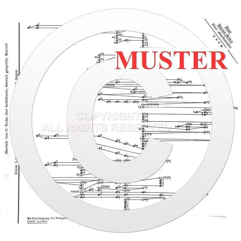 Noten für Akkordzither Alte Kameraden 6 Akkorde Musikverlag HANSA 4581