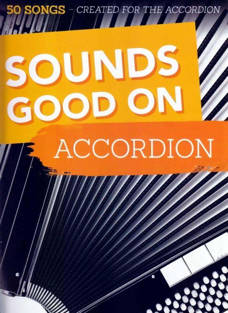 Noten Sounds Good On Accordion Bosworth BoE 7902 Akkordeon 50 Chart Hits