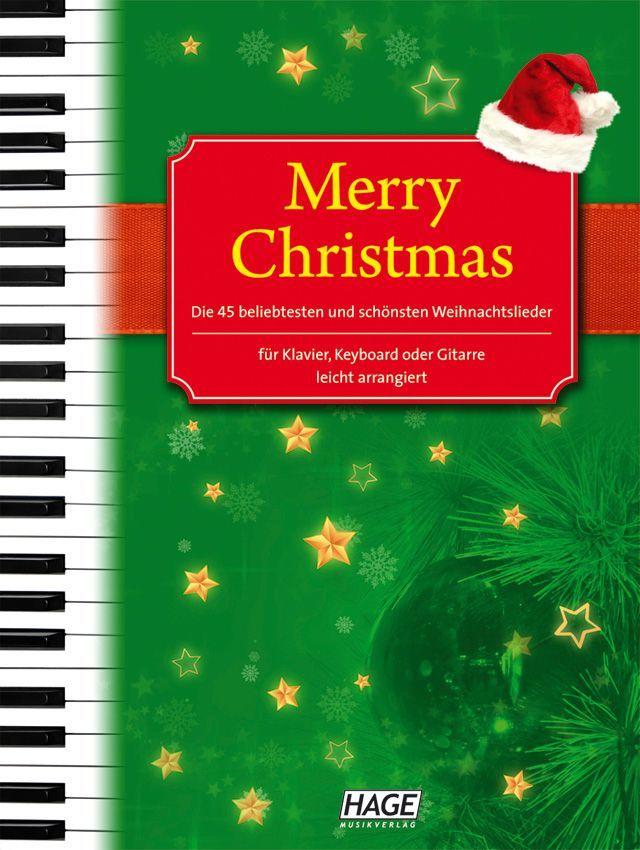 Noten Merry Christmas alte & neue Weihnachtslieder eh Hage 1075