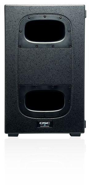 QSC KS212C aktiver Einzelgehäuse-Cardioid-Subwoofer Showroom Modell
