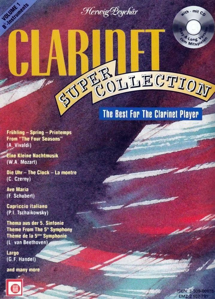 Noten CLARINET SUPER COLLECTION 1 für Klarinette incl. CD EMZ 2107791