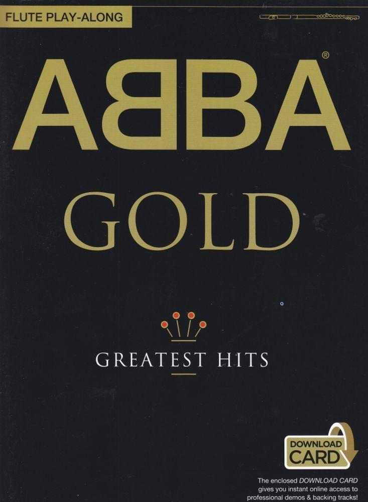 Noten ABBA Gold  for Flute Querflöte AM 996105R incl. download-Code