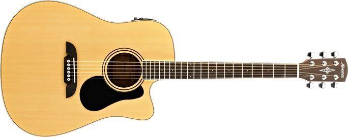 Alvarez RD26 CE  Akustikgitarre mit Pickup, Fichte, Natur, incl. Gigbag