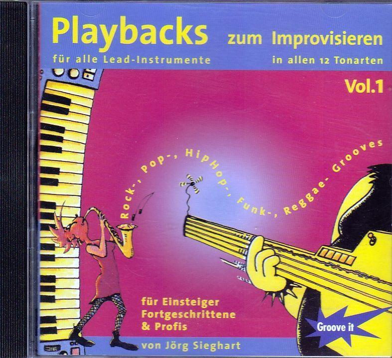 CD Playbacks zum Improvisieren in allen 12 Tonarten Jörg Sieghart