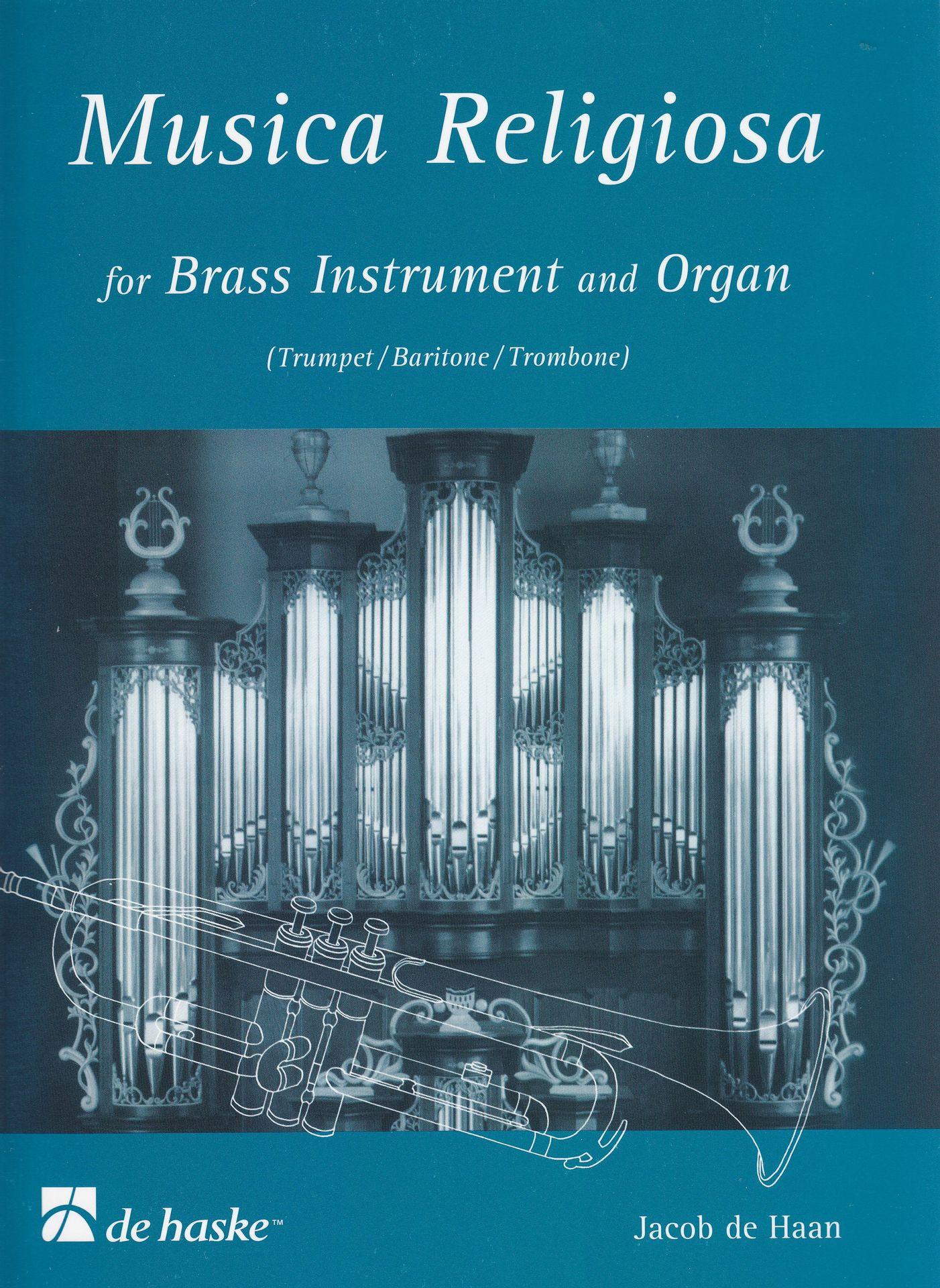 Noten Musica religiosa für Orgel & Blasinstrument Jacob Haan deHaske 900225