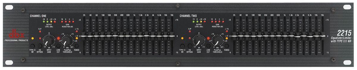 dBX 2215 Dual Equalizer mit Limiter