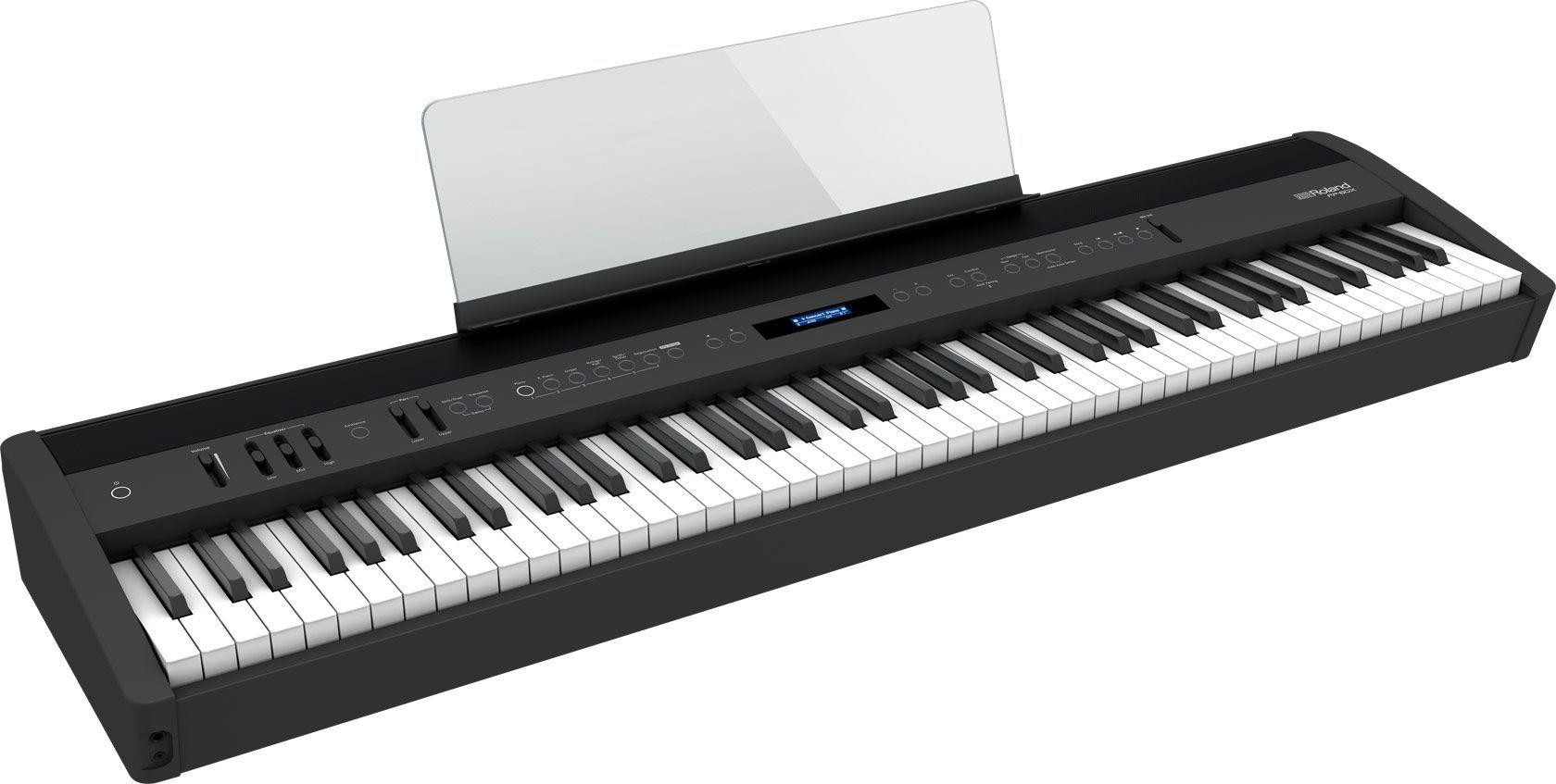Roland FP-60X-BK Stagepiano schwarz Digitalpiano mit Lautsprechern