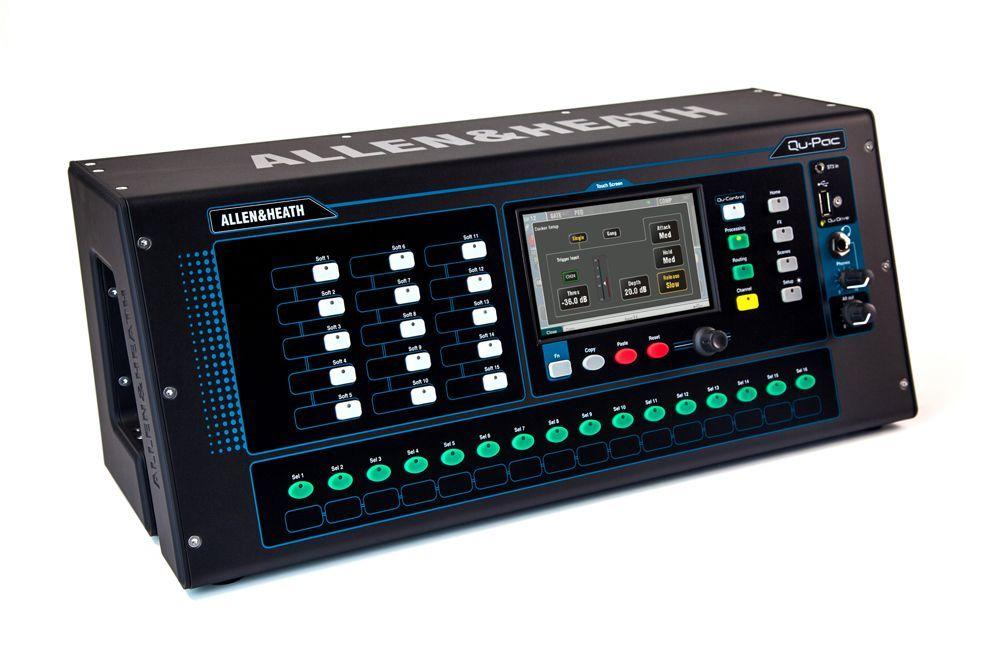 Allen&Heath QU-PAC Digitalmixer für Live und Studio/Installation, 16 Kanal