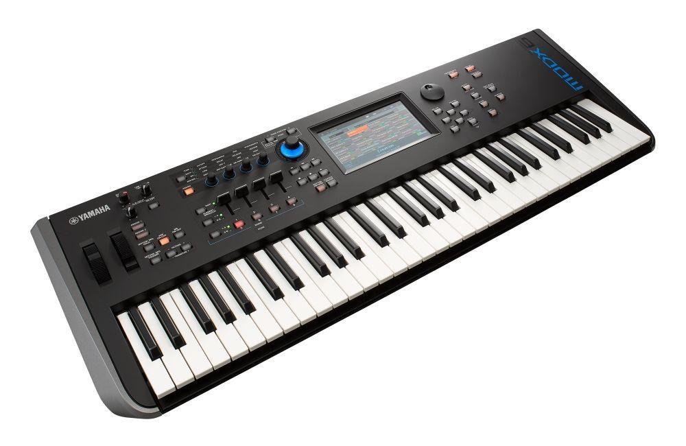 Yamaha MODX-6  Synthesizer mit 61 Tasten, 5,67 GB Wave Rom,