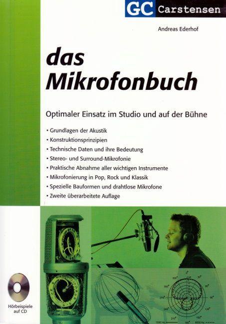 "Buch ""Das Mikrofonbuch"" A Ederhof PPV Medien incl. CD neue Auflage"