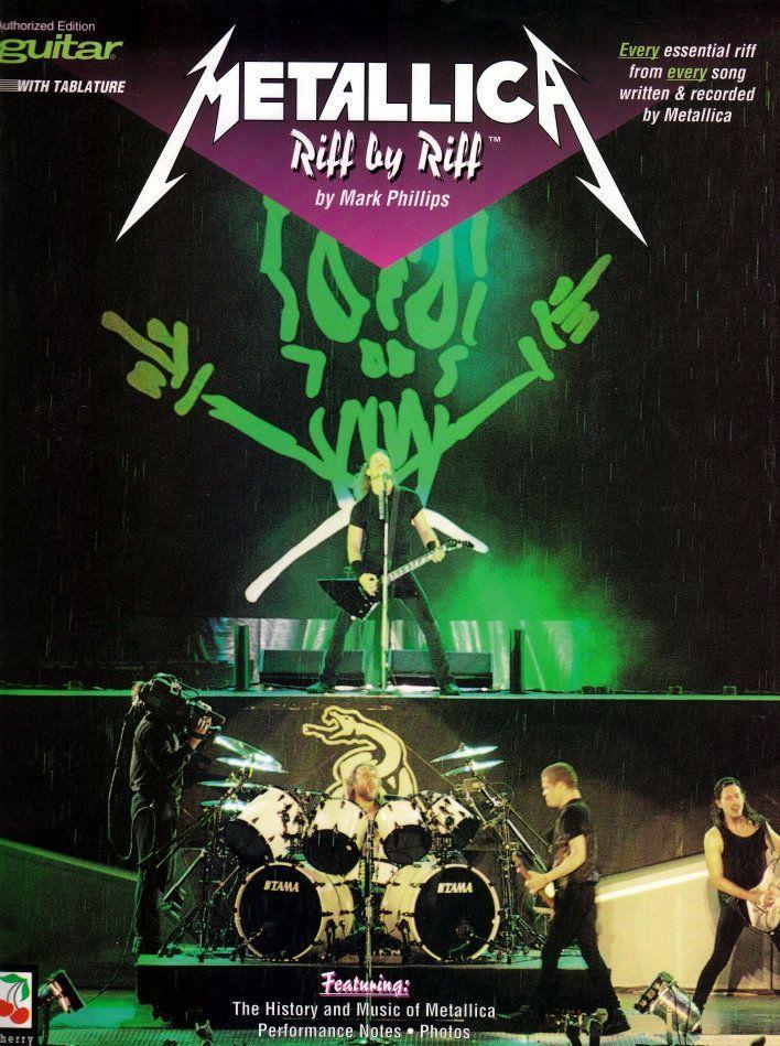 Noten Metallica Riff by Riff verständliche Riffs & Erklärungen 02506313
