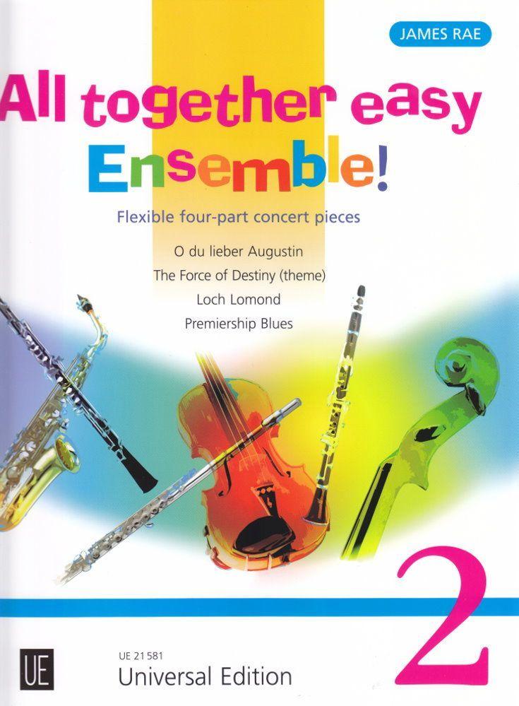 Noten All together easy Ensemble 2 für variable Besetzung James Rae UE 21581