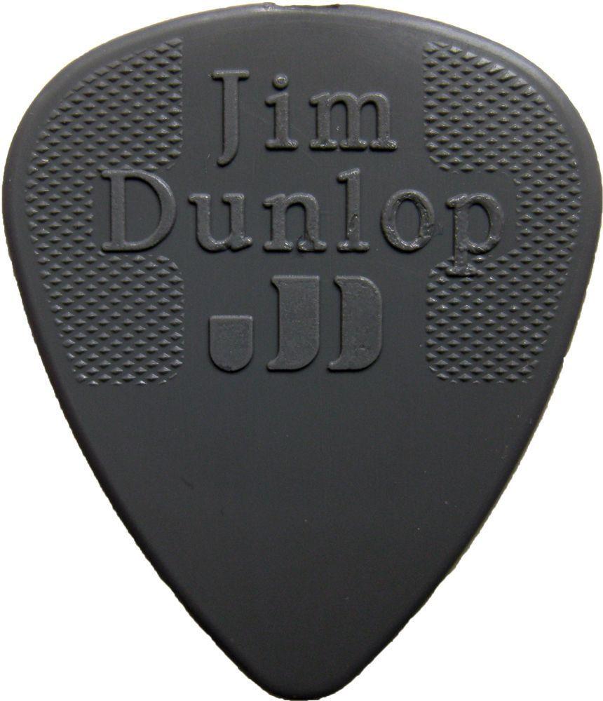 Jim Dunlop Nylon Pick 0,88 mm Dark Grey Plektrum für Gitarre