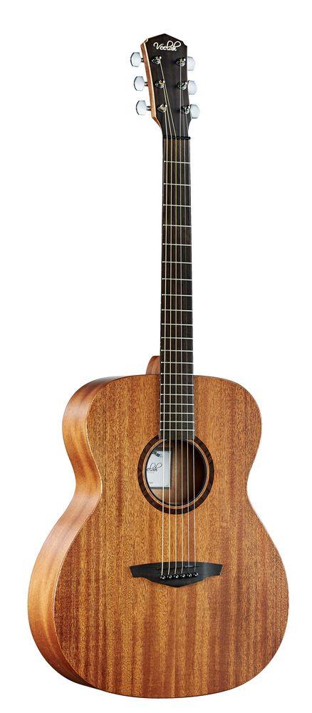 Veelah V1 OMM  Akustikgitarre, massive Mahagonidecke