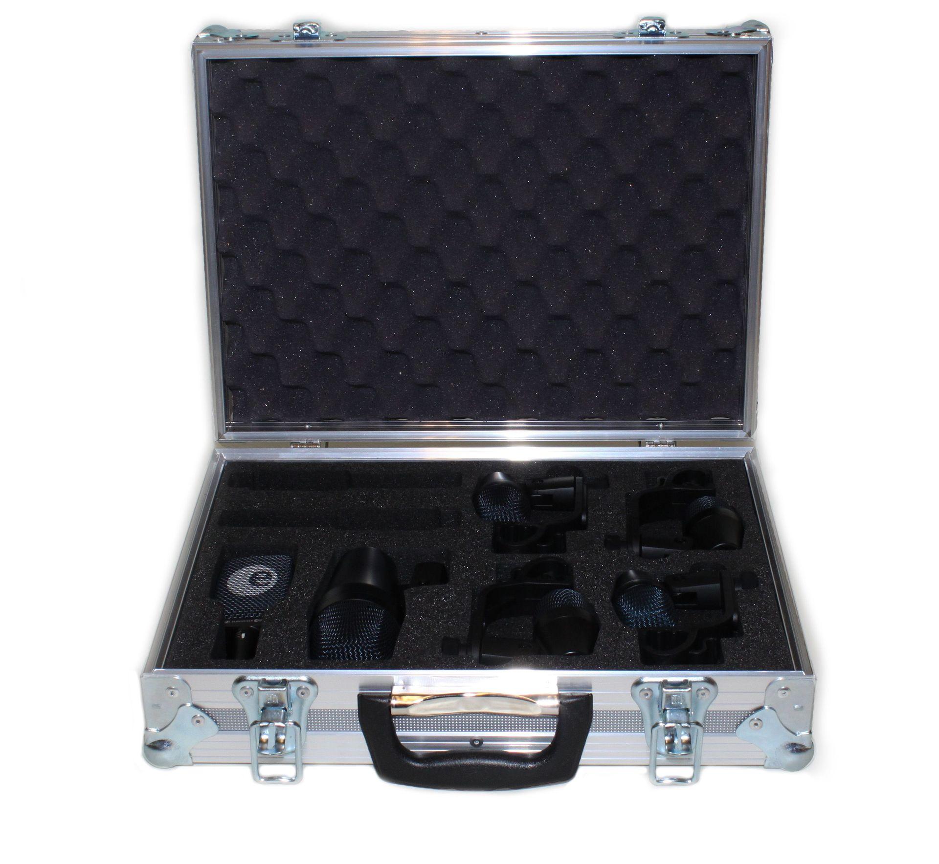 Sennheiser Drumset 900 Profi Drum Mikrofon Set für Schlagzeug inkl. Koffer