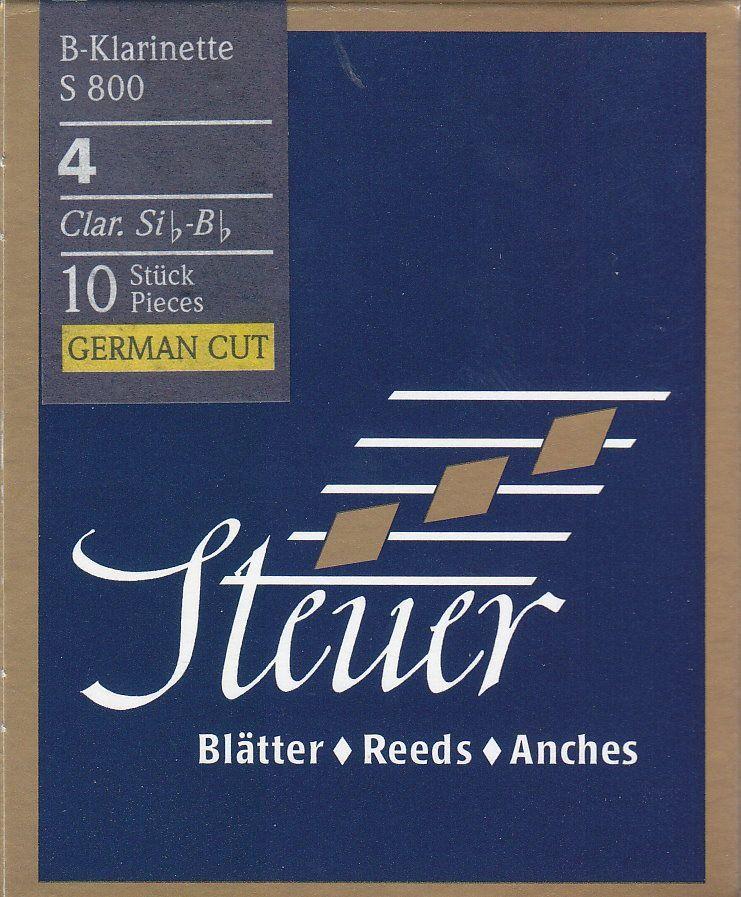 Steuer Blatt S-800 B-Klarinette deutsch 4,0 Blue Line