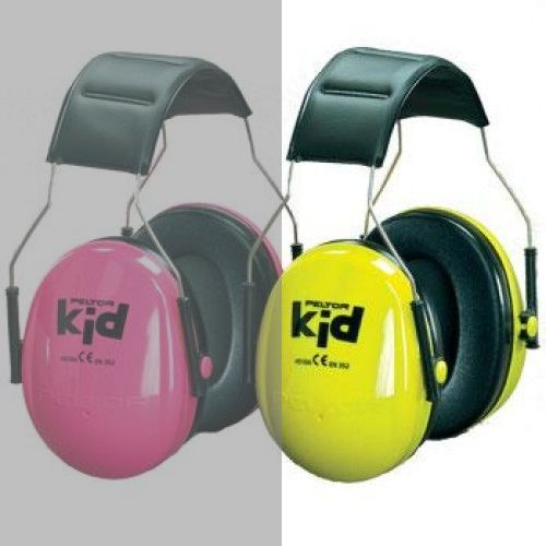 Peltor Kid Earmuff Gehörschutz Neongrün Kindergehörschutz