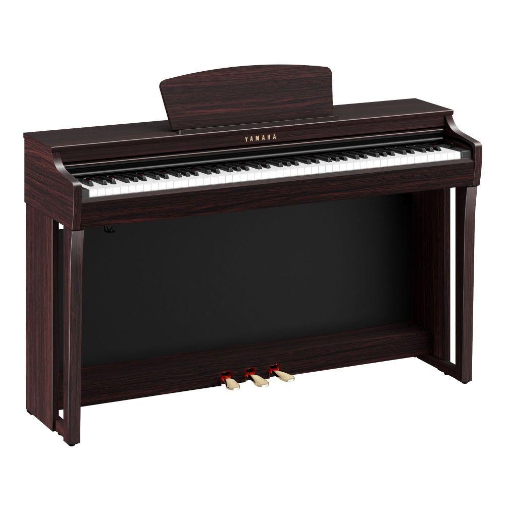 Yamaha CLP-725R Digitalpiano Rosenholz, E-Piano Yamaha mit GH3X-Tastatur