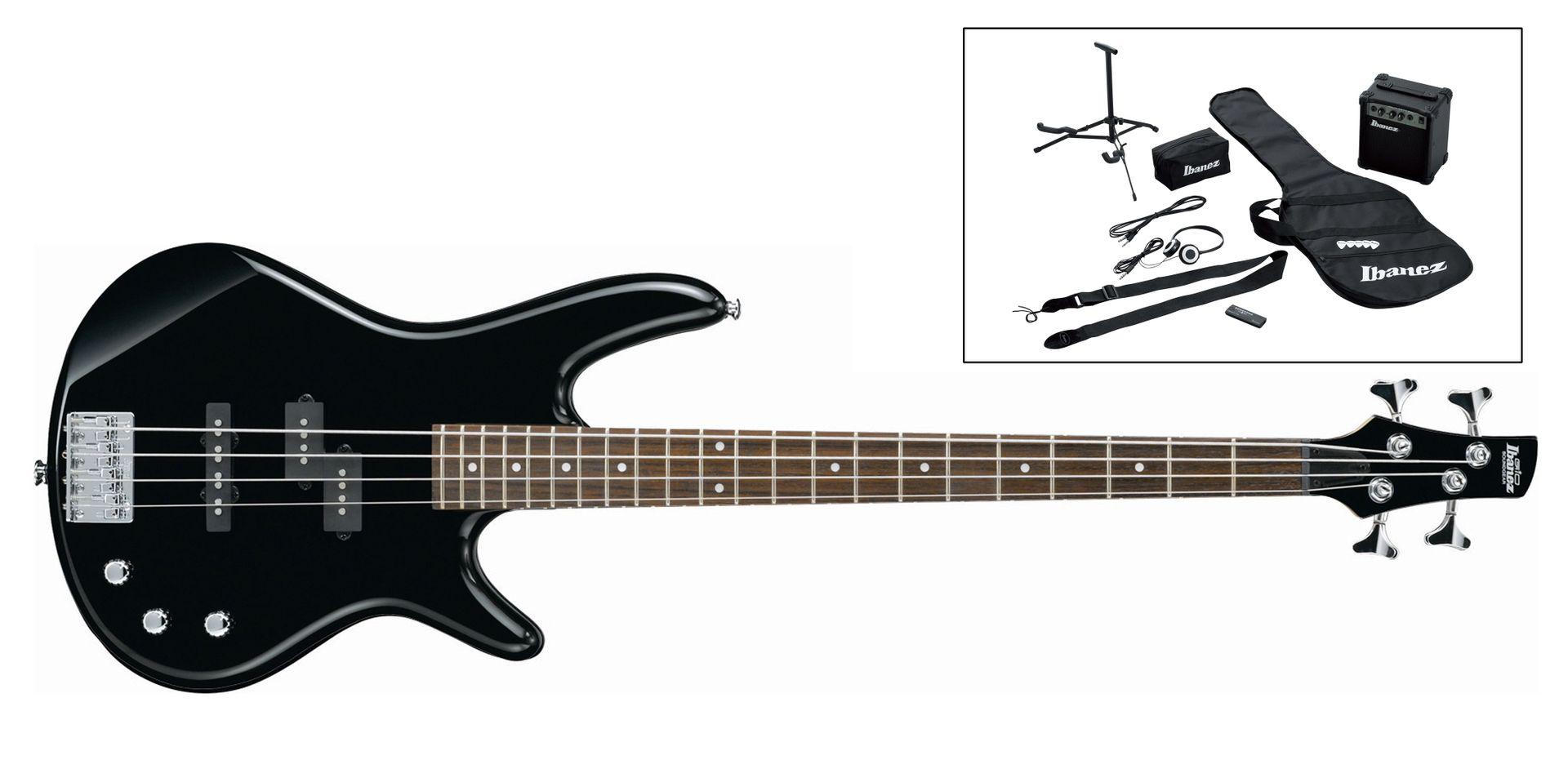 Ibanez Jumpstart IJSR190-BK Einsteigerkomplettpaket für Bassisten