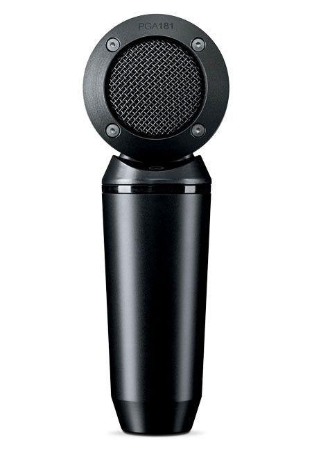 Shure PGA181 Instrumenten Kondensatormikrofon im Lollipop-Design inkl. Kabel