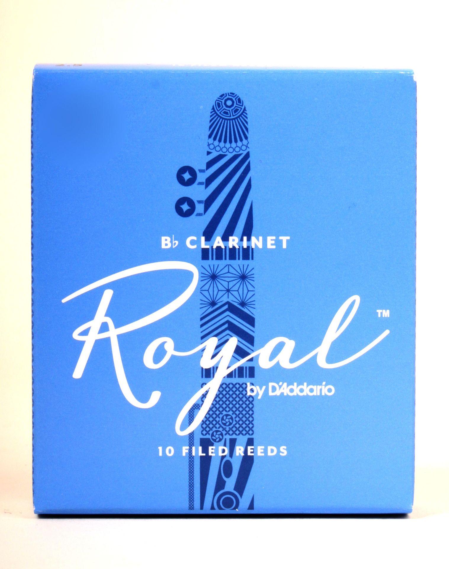 Daddario WoodWinds Rico Royal Blatt B-Klarinette 3,5  Böhmklarinette