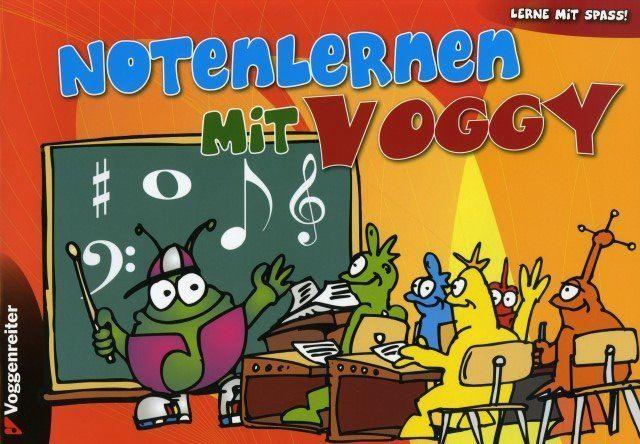 Notenlernen mit Voggy Voggenreiter VOGG 1054-3 Notenpapier Notenbuch