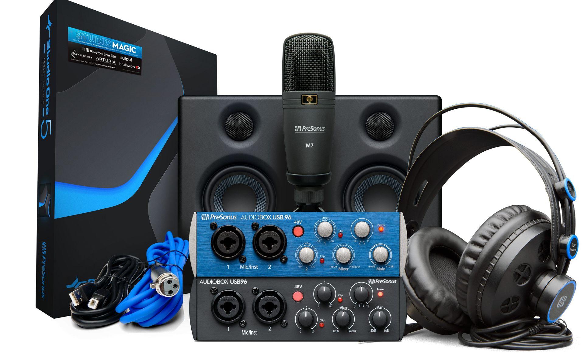 Presonus AudioBox 96 Studio Ultimate 25th Anniversary Edition Studio SET