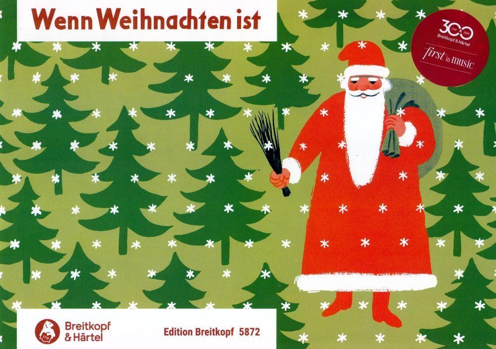 Noten Wenn Weihnachten ist für Klavier EB 5872 Piano Breitkopf & Härtel