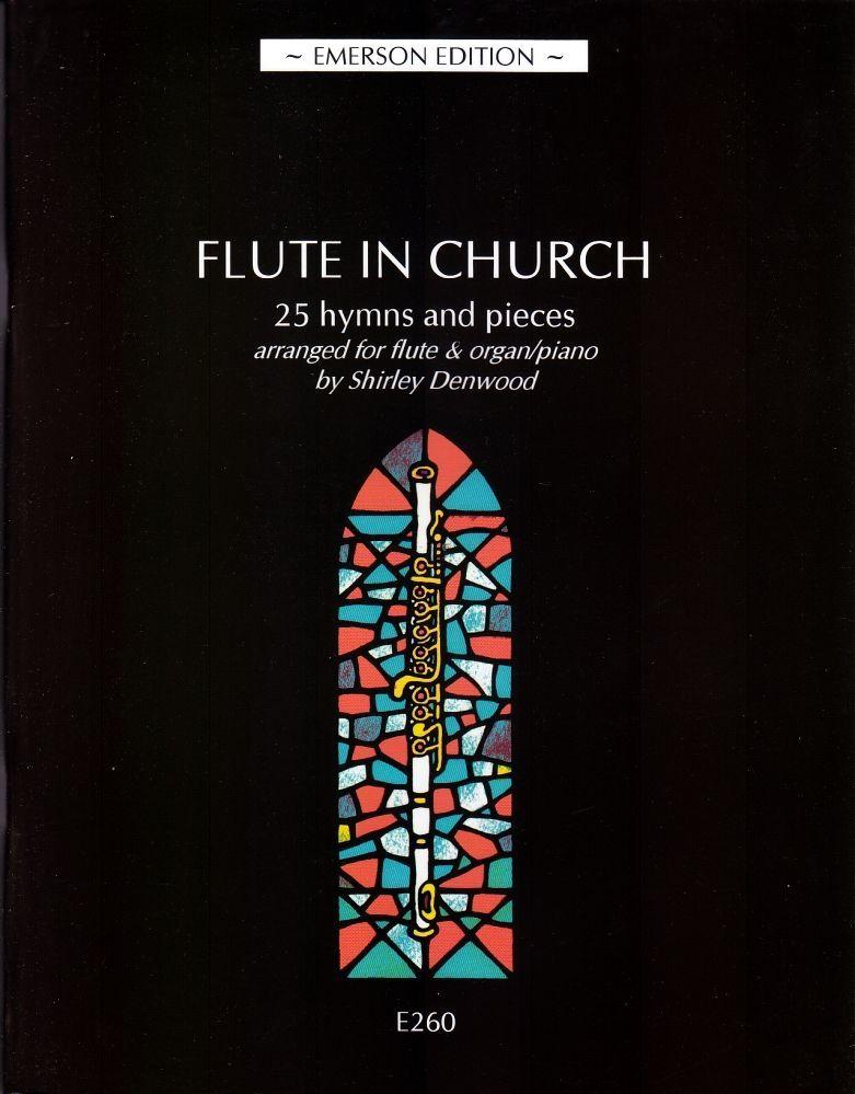Noten FLUTE IN CHURCH Querflöte und Orgel manualiter / Klavier EMERSON 260