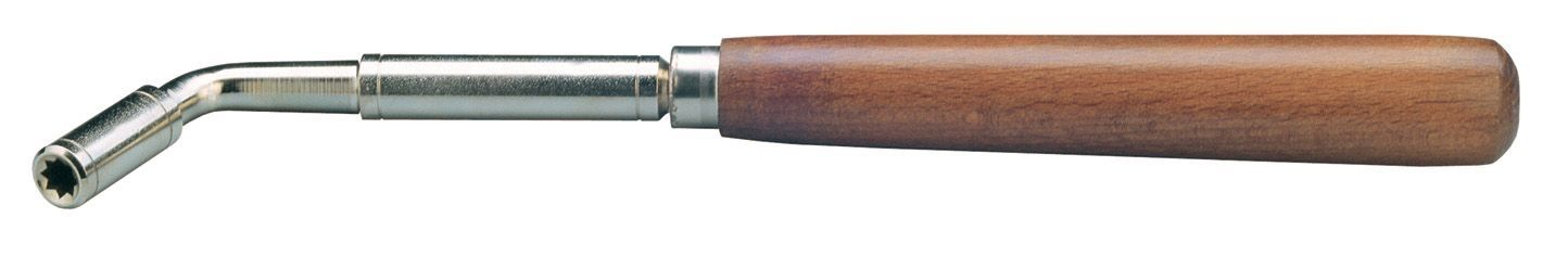 K&M 16600 Klavierstimmhammer Stimmschlüssel 8,5 mm Sterneinsatz 166