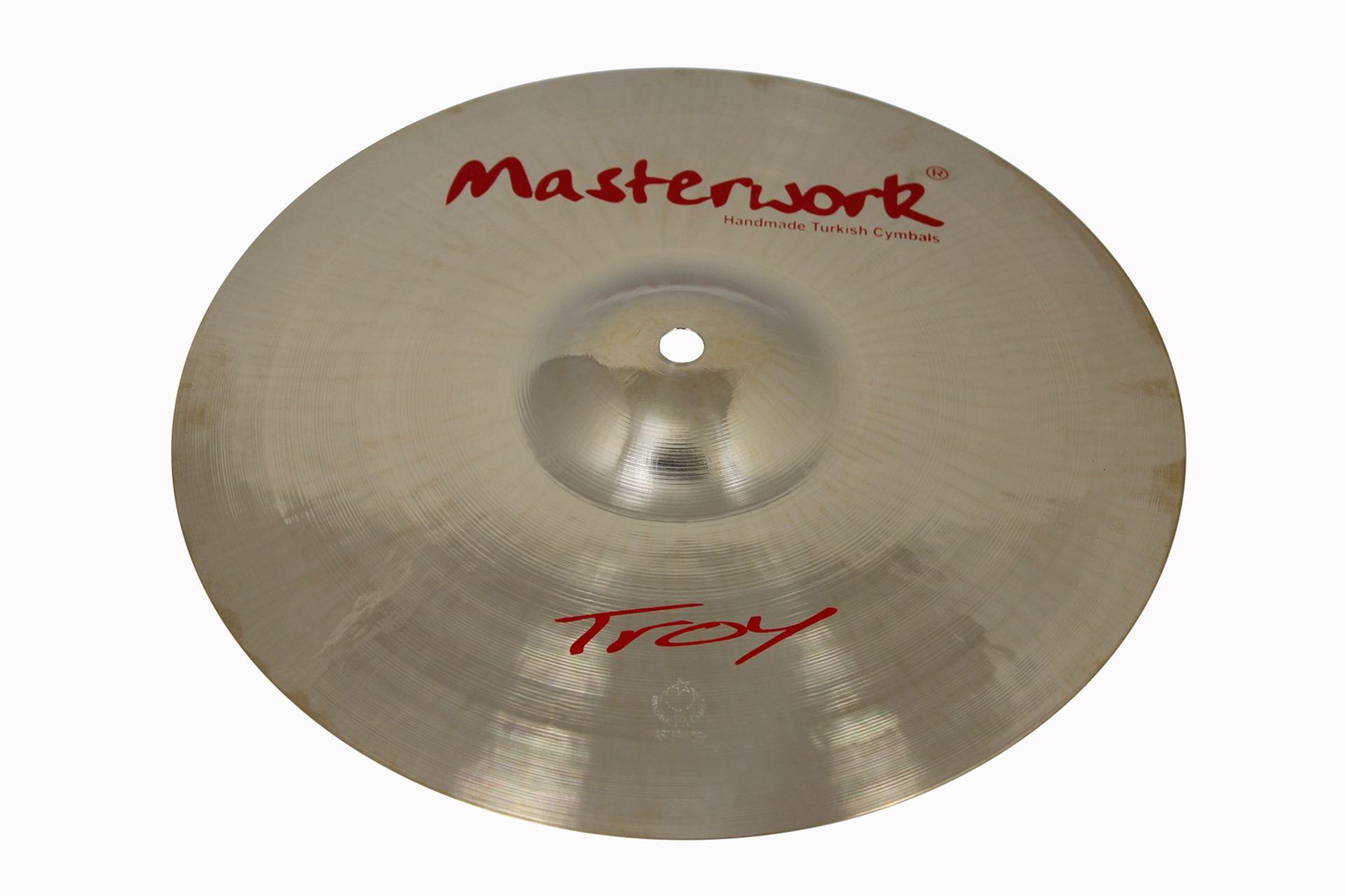 """Masterwork Troy 10"""" Splash Becken"""