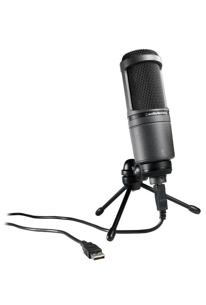 Audio Technica AT 2020 USB+ Studio Mikrofon, Großmembranmikrofon mit USB, NEU