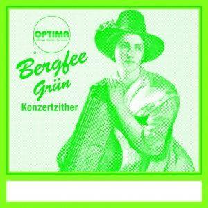 Bergfee Zither-Saiten Satz 1321-MS38 38-saitig, grüne Serie, Harfenzither
