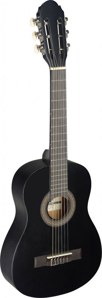 Stagg C-405 M BK Konzertgitarre, 1/4-Größe schwarz matt