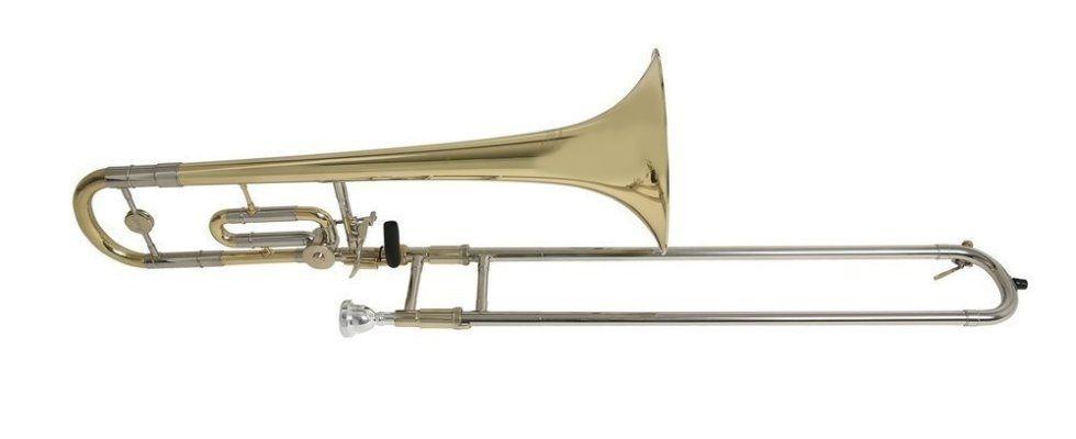 Bach TB650  B/C Kinderposaune B/C , Bohrung 12,7 - 13,34mm, Etui + Zubehör