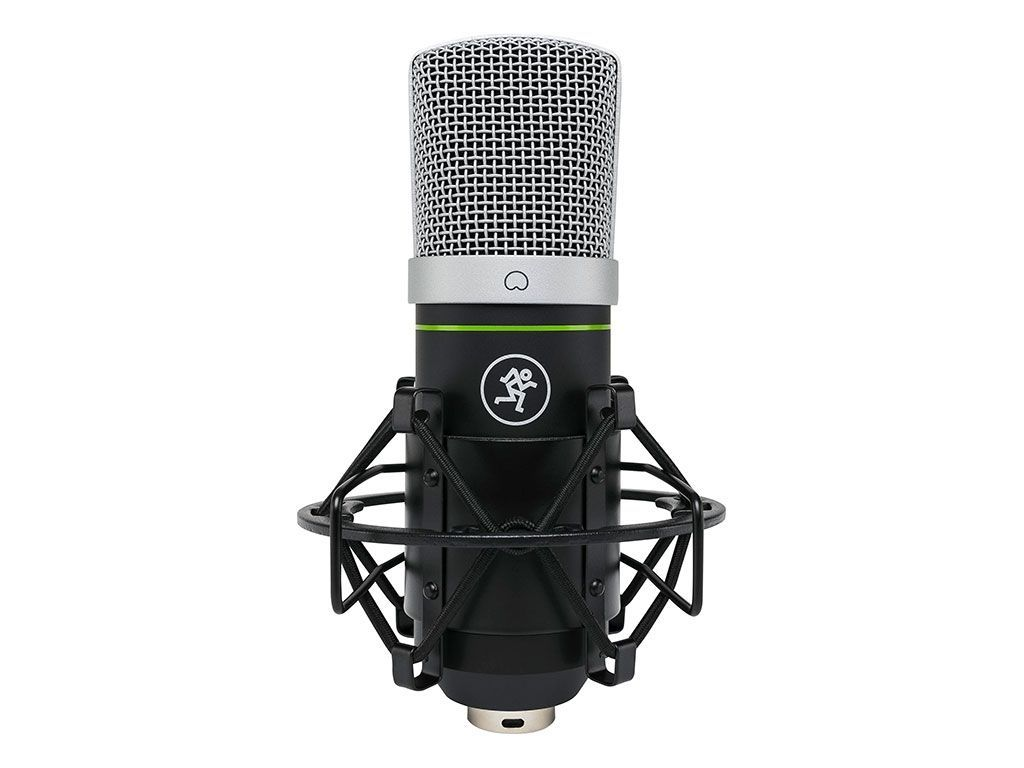 Mackie EM-91CU USB Kondensator Mikrofon inkl. Spinne, z.B. für Live Streaming