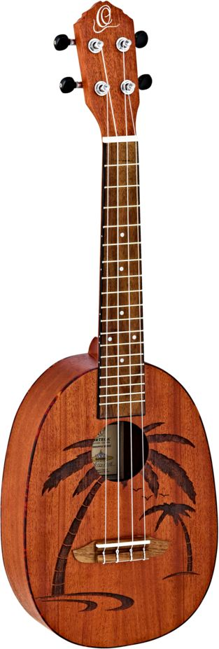 Ortega RUPA5MM  Konzertukulele in Pineapple Style mit Lasergravur
