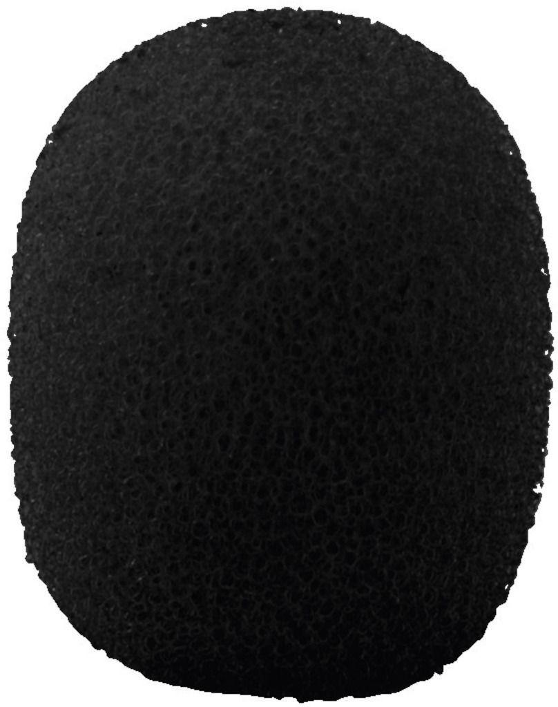 Monacor WS-150/SW Mikrofon-Windschutz, schwarz 4 Stück