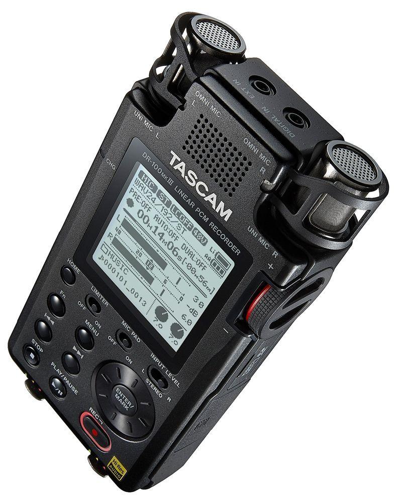 Tascam DR-100 MK3l tragbarer Digitalrecorder Handheld- Recorder