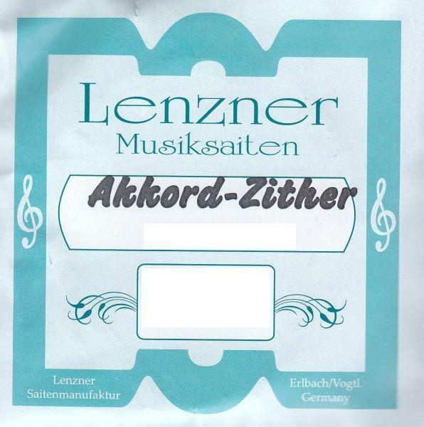 Lenzner Zither-Saiten Akkordzither, original Saiten für 331/100-3  49 Saiten