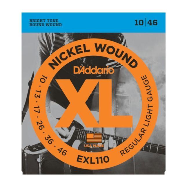 D'Addario EXL110 E-Gitarren Saiten .010-.046