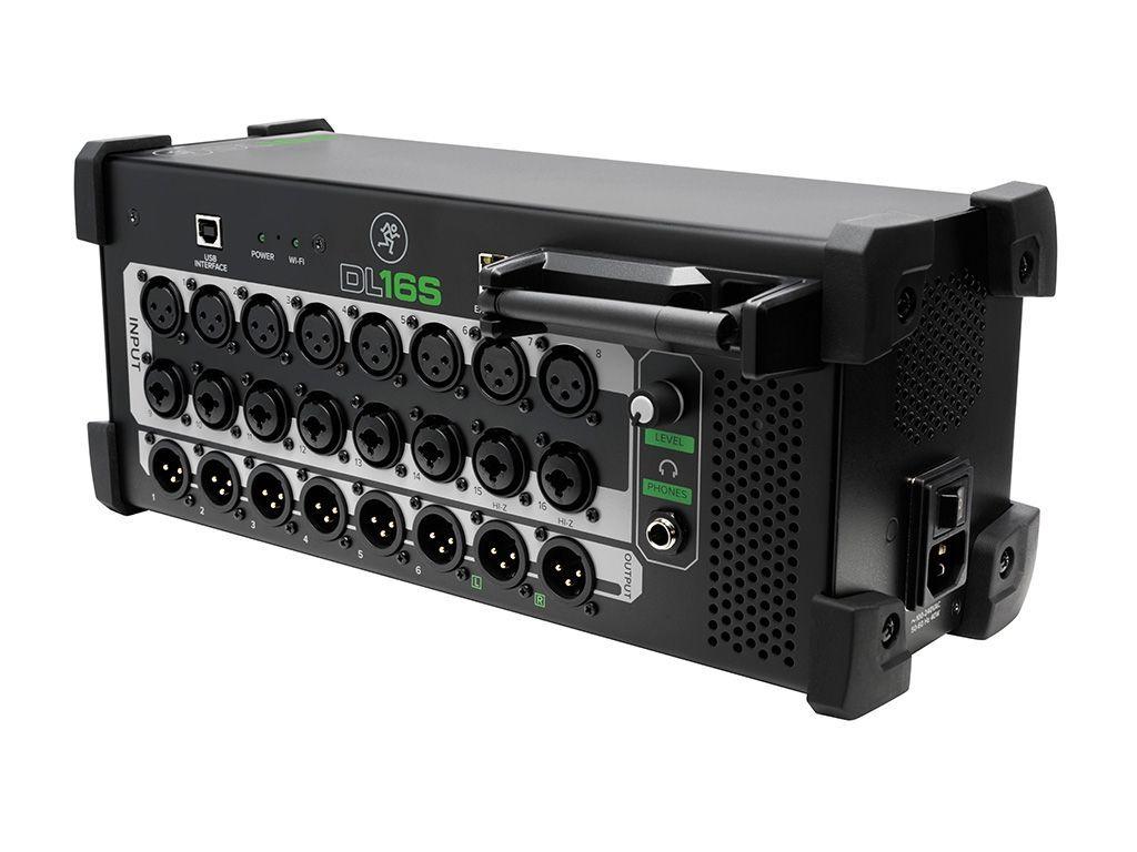 Mackie DL16S Kabelloser 16-Kanal Live-Digitalmixer  mit eingebautem Wi-Fi