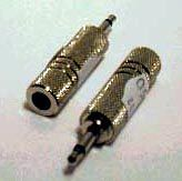 Festadapter 3,5mm Klinkenstecker  6,3mm Klinkenbuchse