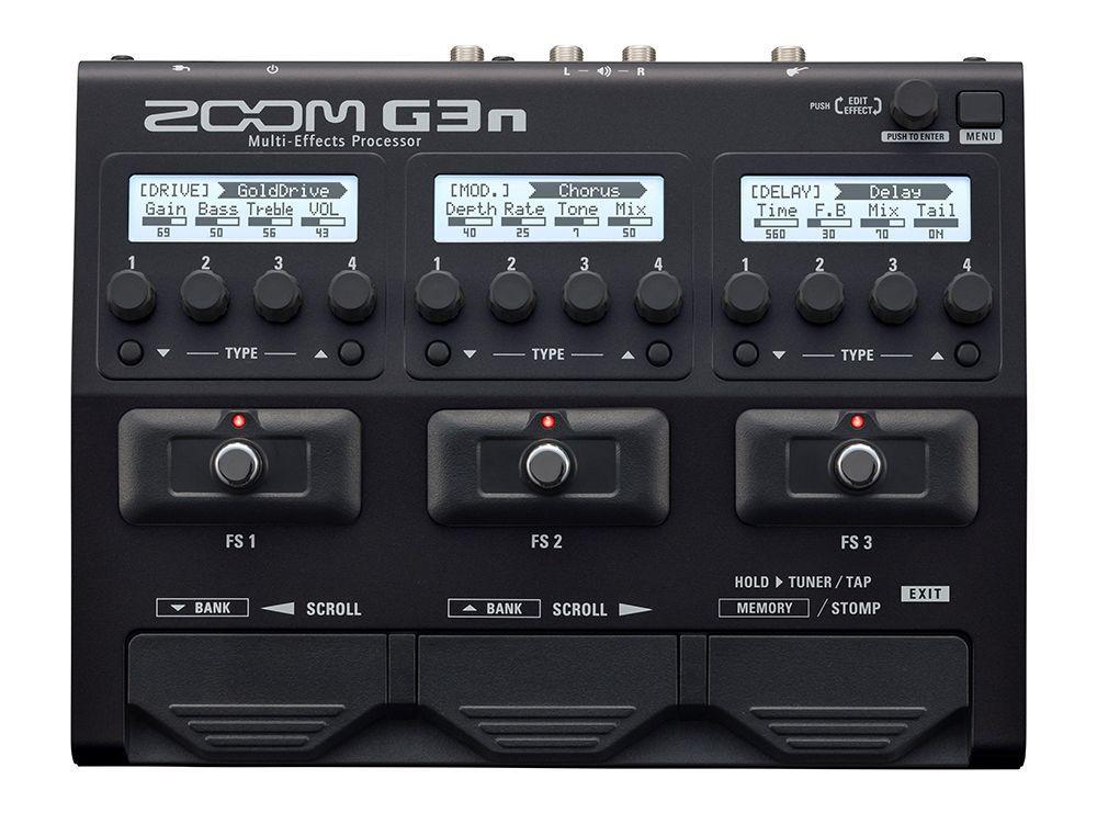 Zoom G3n, Multieffektgerät für E-Gitarre