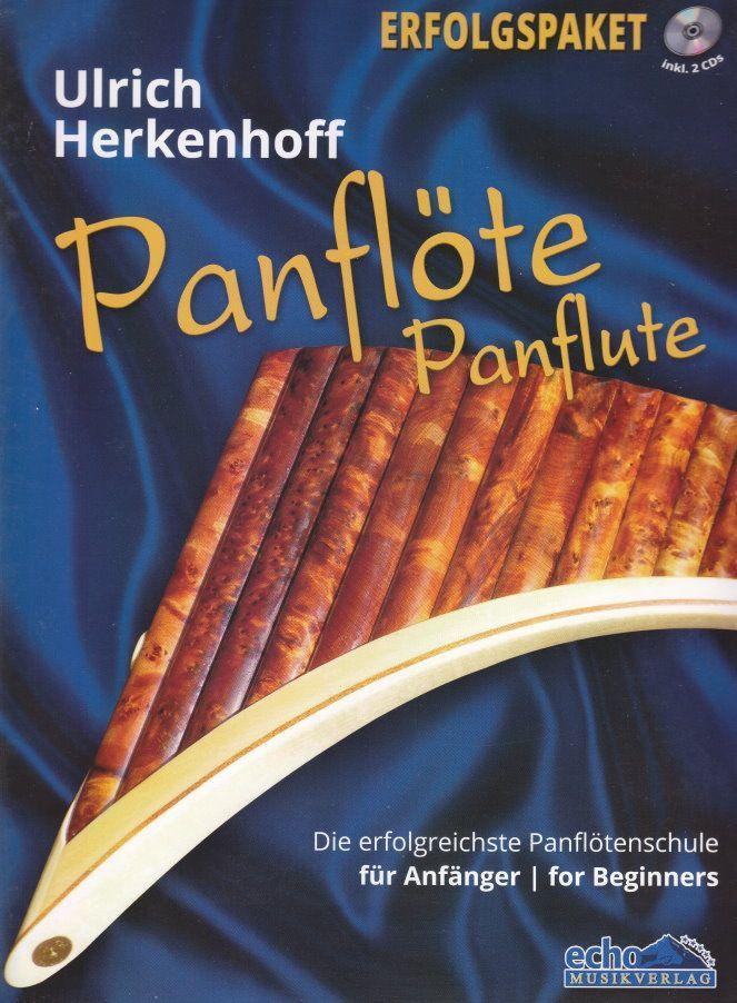 Noten Lehrbuch Panflöte für Anfänger Herkenhoff SET 1018 CD DVD Schule Spielbuch
